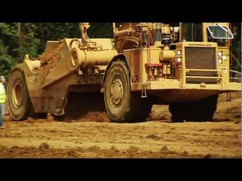 Construction d'une autoroute en Guinée équatoriale - YouTube