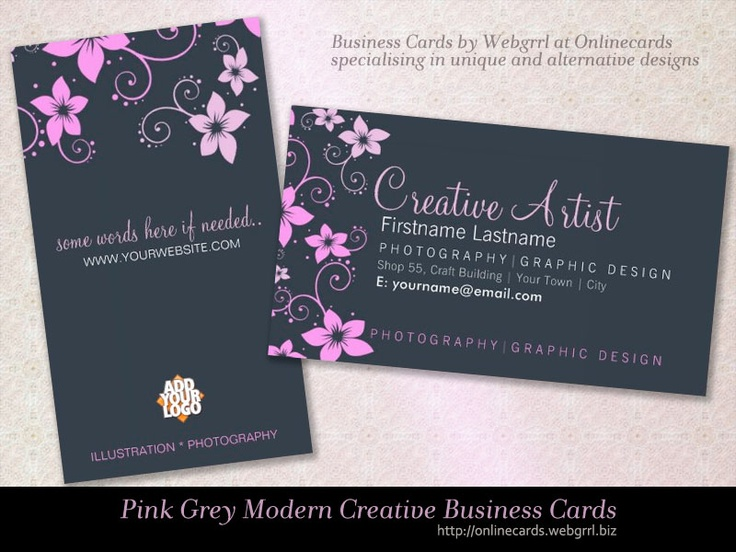 25 Best Images About Business Card Templates On Pinterest