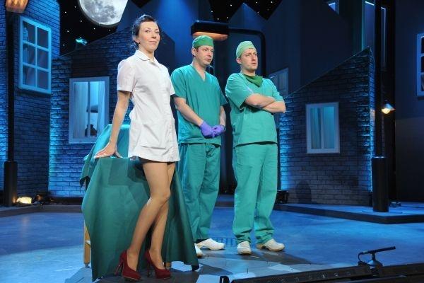 Kabaret Nowaki zainteresował się służbą zdrowia (fot. Jan Bogacz)
