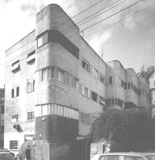 תמונת הבניין המקורי לפני ביצוע הפרויקט