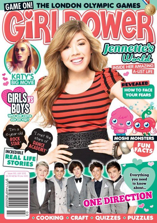 jennette mcCurdy magazine covers | GP: You're the newest