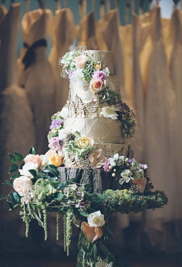 enchanting fairytale inspired wedding cake - brides of adelaide
