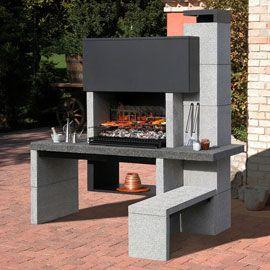 Les 25 meilleures id es de la cat gorie barbecue en pierre sur pinterest - Modele barbecue en pierre ...