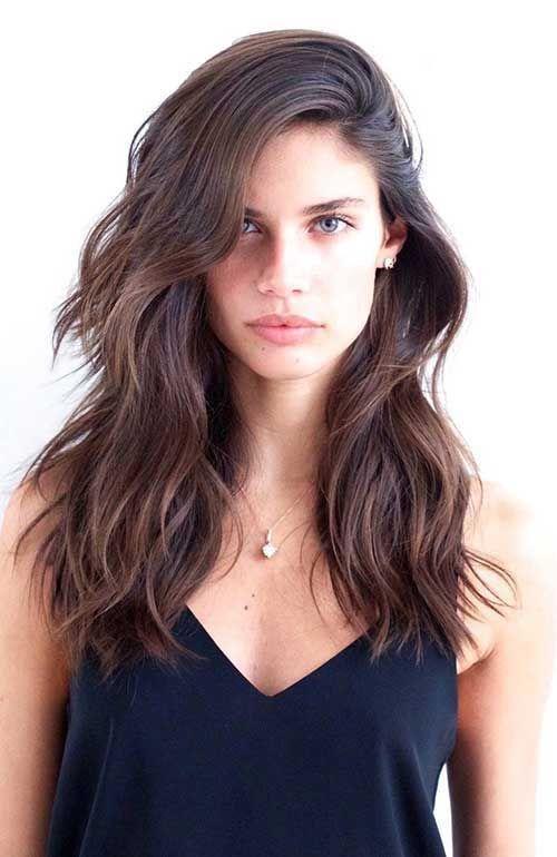 Wirklich Beliebte Mittel Lange Frisuren Hair Hair Hair Styles E