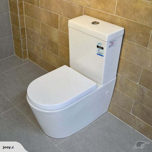 **Stylish Square Back to Wall Toilet** | Trade Me