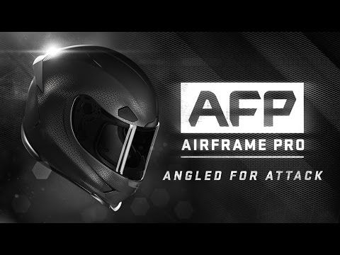 ICON Airframe Pro Helmet - Angled For Attack - YouTube
