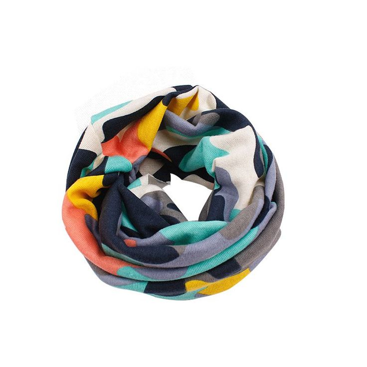 New Autumn Winter Children Scarf Baby Bibs Baby Girl Boy Scarves O Ring Lovely Kids Collars Child Ring Scarf