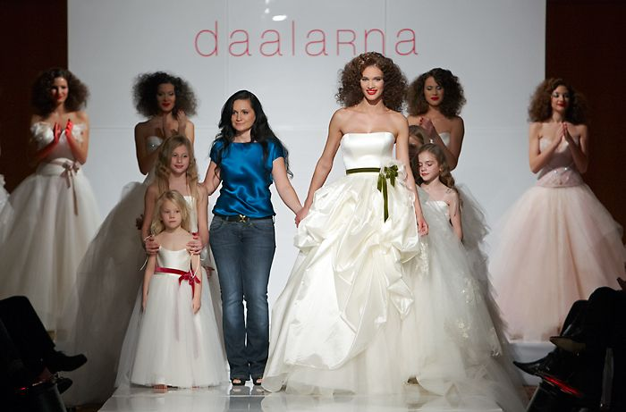 Daalarna Wedding Dress - City Collection on the Runway
