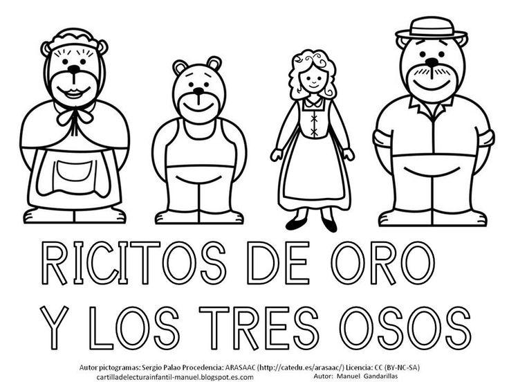 CARTILLA DE LECTURA INFANTIL digital: RICITOS DE ORO
