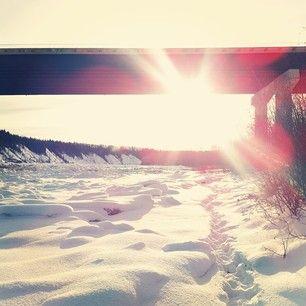 danielle ferchoff; devon alberta; canadian winter