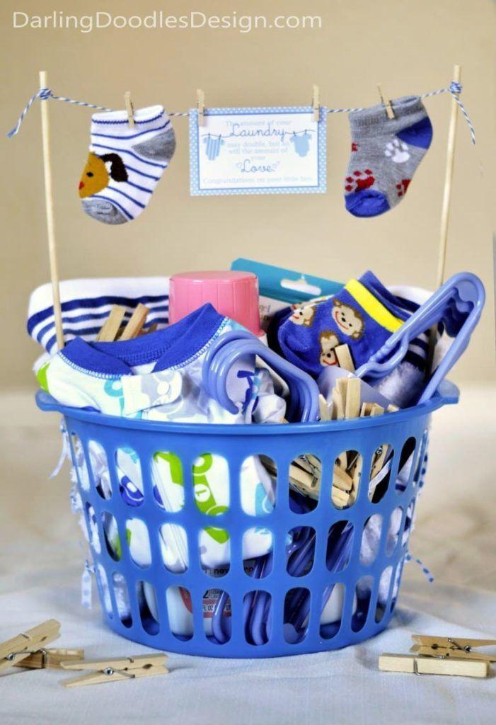 24 Diy Baby Shower Gift Basket Ideas For Boys Baby Shower Gift