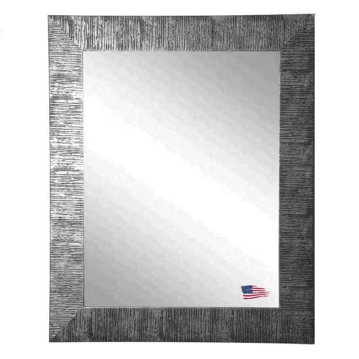 Rayne Mirrors Silver City Wall Mirror - V0034