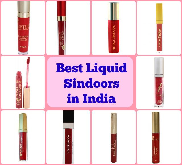 """10 Best Liquid Sindoors in India Hello Beautiful, Today's post is specially dedicated to the """"Married Indian Women"""" who love to flaunt their marital status"""