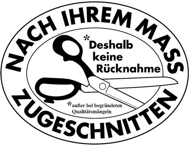 Scheibengardine nach Maß »Elise«, , Stangendurchzug (1 Stück)