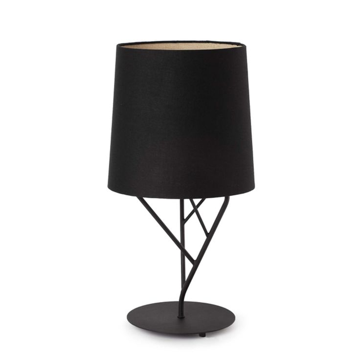 Lámpara de Mesa negra diseño árbol #lamparas #iluminacion #interiorismo #decoracion #hogar #luminarias #diseño #iluminable
