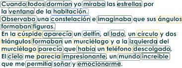 Resultado de imagen para texto con palabras agudas graves esdrujulas y sobreesdrujulas