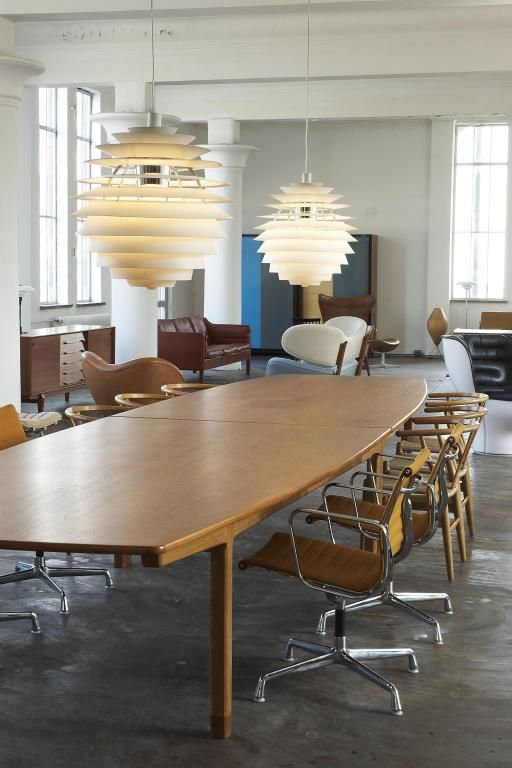 Louis Poulsen - Louvre by Poul Henningsen   From a unique collection of antique and modern chandeliers and pendants at http://www.1stdibs.com/furniture/lighting/chandeliers-pendant-lights/