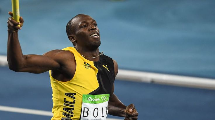 Usain Bolt bows out of Olympic career with his ninth goldUsain Bolt of Jamaica celebrates winning the Mens 4 x 100-meter relay final during the 2016 Rio Olympic Games.  Image: Brendan Moran/Sportsfile via Getty Images  By Tim Chester2016-08-20 01:58:13 UTC  He came he ran he conquered once again.  Usain Bolt triumphed in the mens 4 x 100-meter relay Friday helping his Jamaican team mates cross the line in first position.  The win marks the triple triple for Bolt meaning hes won gold at the…