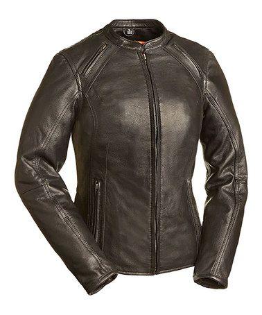Black Bomber Jacket -