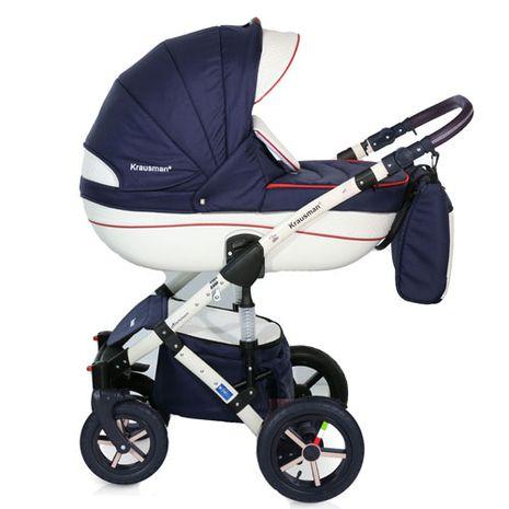 Accesorii bebelusi :: Carucioare copii :: Carucioare 3 in 1 :: Krausman - Carucior 3 in 1 Poema Navy