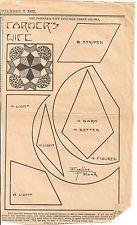 Farmers Wife Patchwork Original Newspaper Kansas City Star Quilt Block Pattern