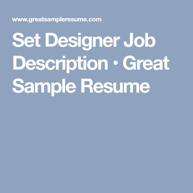 Best 25+ Job description ideas on Pinterest Build a resume - actress sample resumes