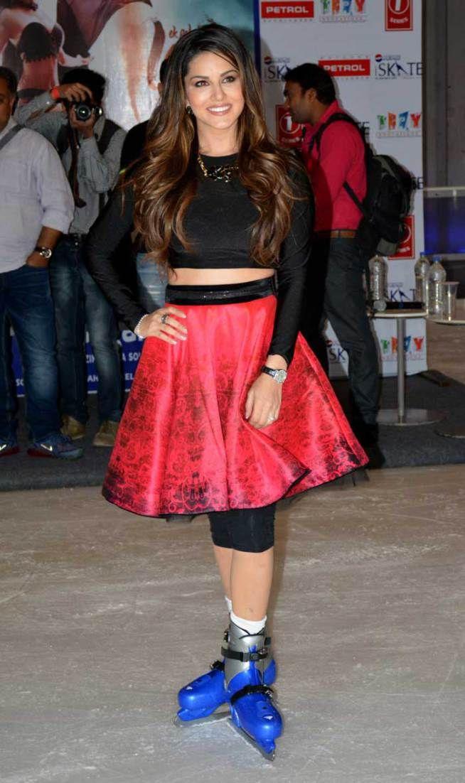 Sunny Leone promoting 'Ek Paheli Leela' in Delhi. #Bollywood #Fashion #Style #Beauty