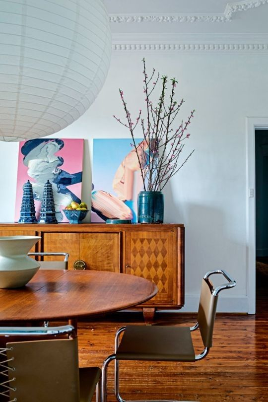 House Tour Inside Gillian Khaws Light Filled Sydney Apartment Orient HouseDining Room