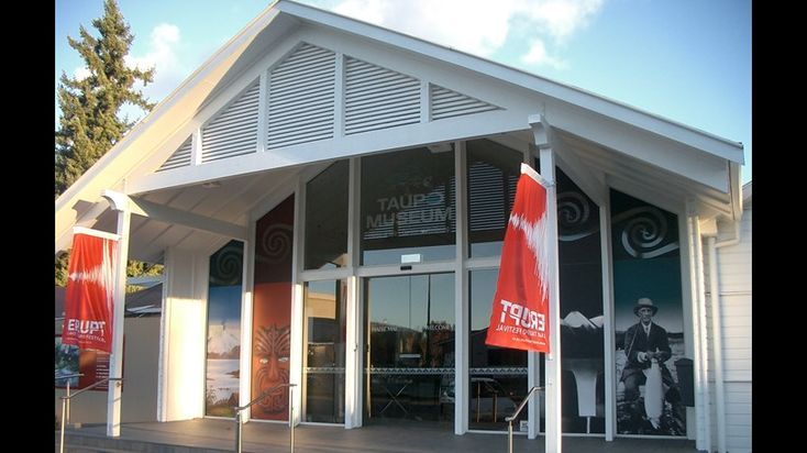 Taupo Museum is home to a blend of heritage and culture; from yesterdays…