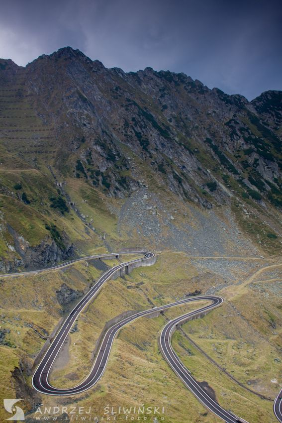 The Transfagarasan - the second-highest paved road in Romania.