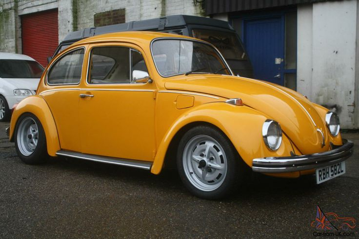volkswagen gt beetle 1973 1600 lemon yellow vw pinterest. Black Bedroom Furniture Sets. Home Design Ideas