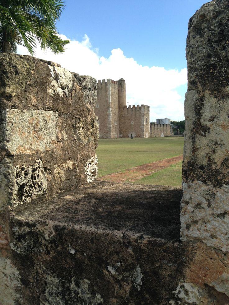 Fortaleza Ozama in Santo Domingo Domincan Republic