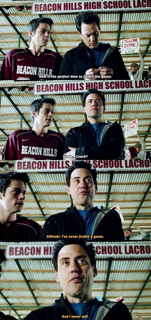 Teen Wolf 5x17 • A Credible Threat • Stiles and Coach