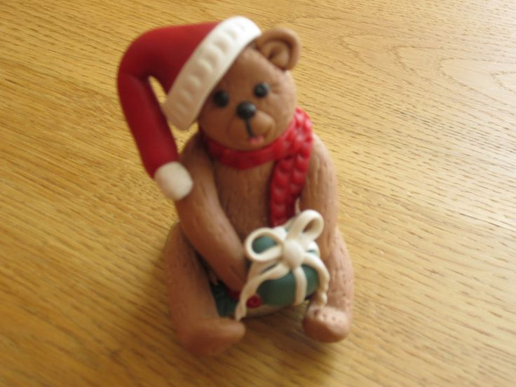 Polymer Christmas Bear
