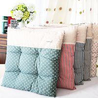 Мода весна-лето пастырское вырос толстый подушка офиса студента обеденный стул подушки ткань подушки - глобальная станция Taobao