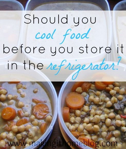 Cooling Food Properly : Images about making it home on pinterest