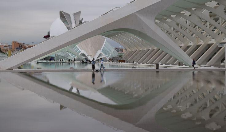 Cité des arts et des sciences, Valence, Espagne