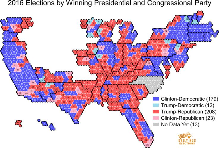 Below is our chart of presidential election results for both the 2016 and 2012 elections according to the congressional district lines used in the 2016 elections. We will be adding new data on a rolling basis as we are able to calculate it. To...