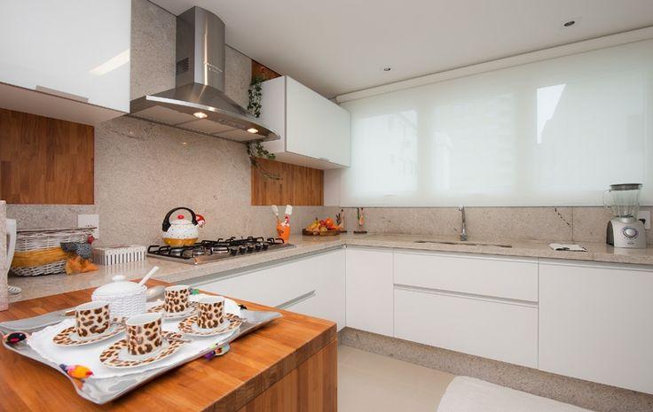 cozinha em granito