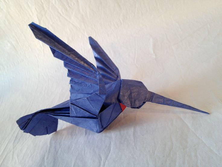 Origami Hummingbird Instructions - photo#8