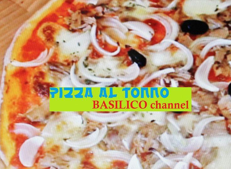 PIZZA tonno e cipolla (ricetta italiana) #29.