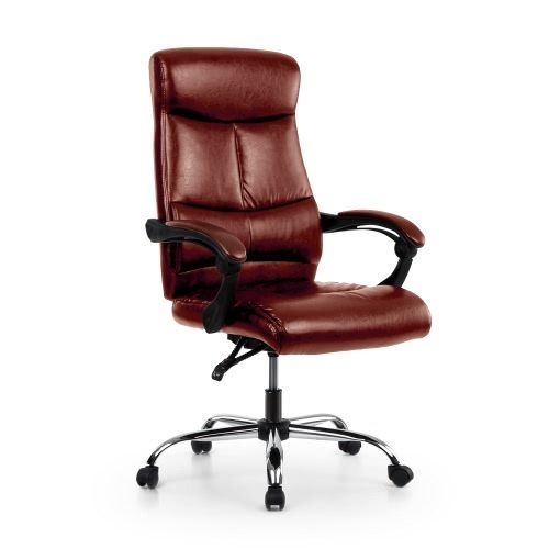 Buy best coffee iKayaa Adjustable Ergonomic PU Leather Executive Office Chair from LovDock.com. Buy affordable and quality Office Chairs online, various discounts are waiting for youhttps://www.lovdock.com/p-h18285co.html?aid=C6624 #ergonomicofficechairfurniture