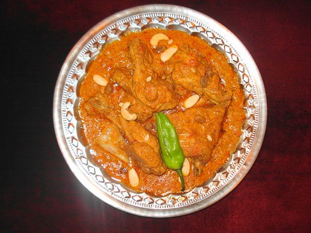 Cuisine of Karachi: Chicken Patiala (Murgh Patiala)  مرغ پٹیالہ