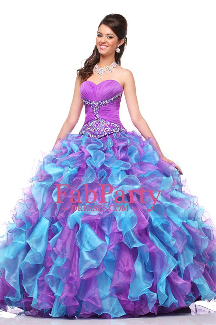Mejores 8 imágenes de quinceanera en Pinterest   Vestido de baile de ...