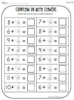 math worksheet : 61 best counting on images on pinterest  classroom ideas  : Addition Counting On Worksheets