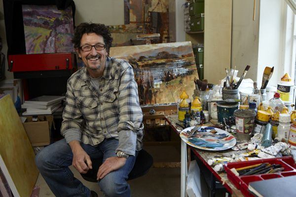 Chris Forsey, painter, Surrey Artists Open studios