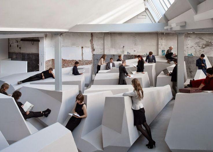 Les 78 meilleures images du tableau  ARCHITECTURE  Coworking sur