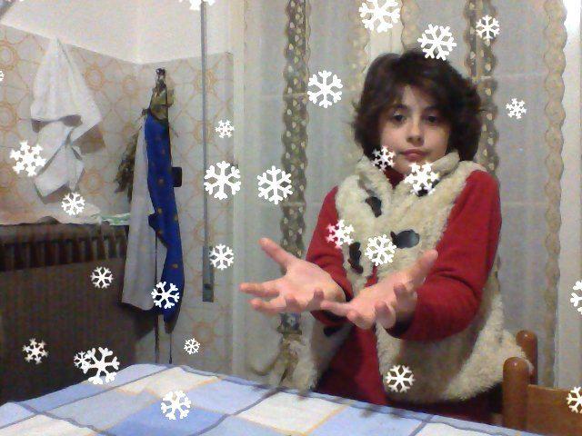 nevica in casa