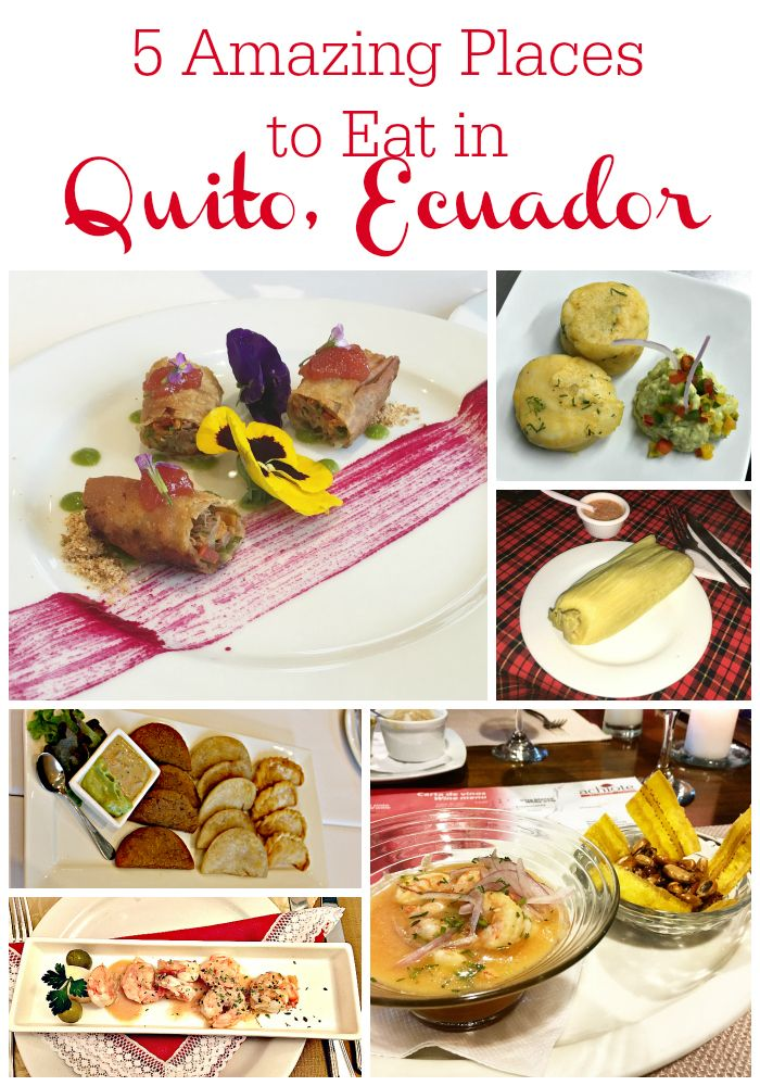 5 Amazing places to eat in Quito, Ecuador - delicious food in the middle of the world, I share some of best restaurants to eat in Quito!