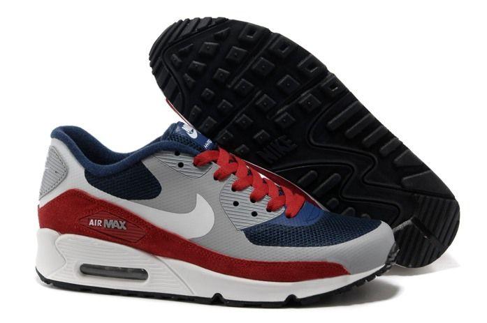 Nike Air Max 90 Womens Hyperfuse 2014 Grey Blue